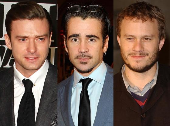 Justin Timberlake, Colin Farrell, Heath Ledger, Lindsay Lohan
