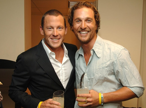 Matthew McConaughey, Lance Armstrong