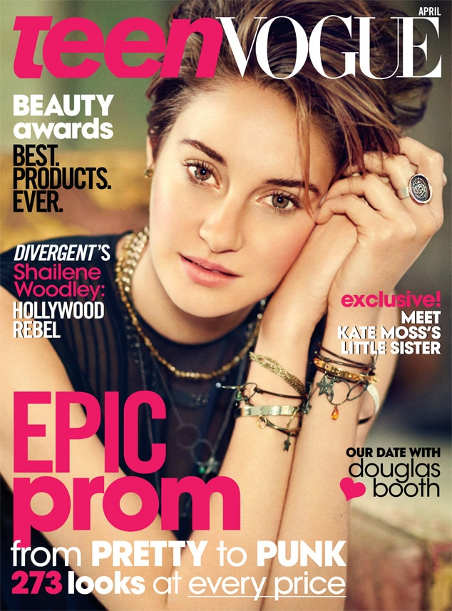 Shailene Woodley, Teen Vogue