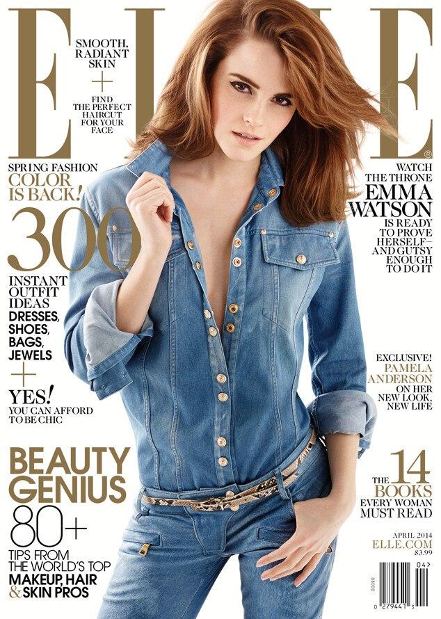 Emma Watson Covers Elle Magazine, Explains Why She's So ...