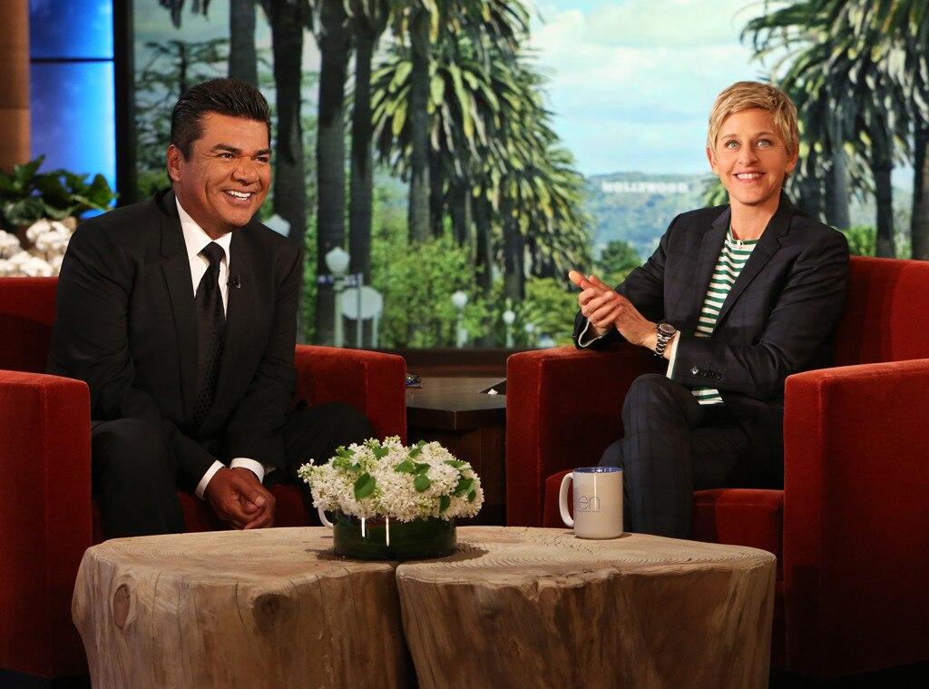 George Lopez, Ellen DeGeneres