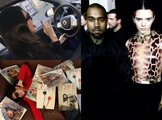 Kendall Jenner, Fashion Week Photo Diary