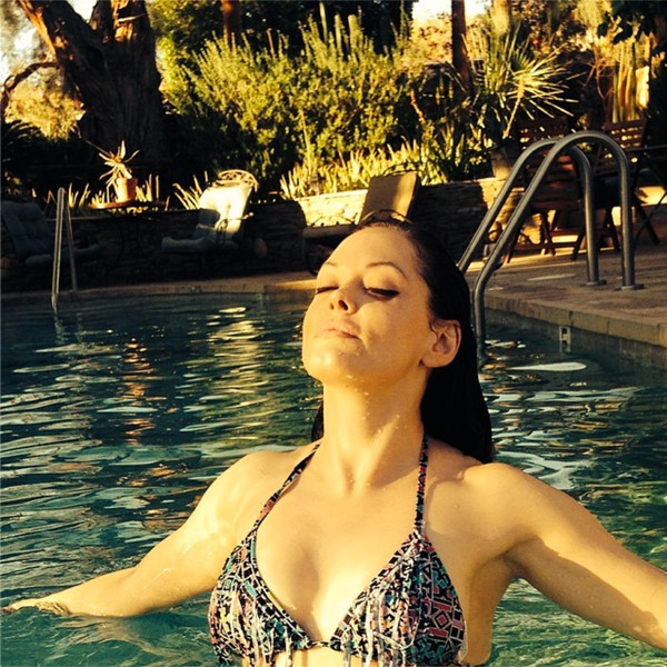 Rose McGowan, Bikini, Instagram