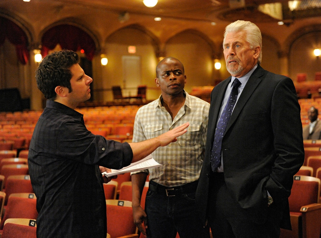 Psych, Barry Bostwick, Guest Star