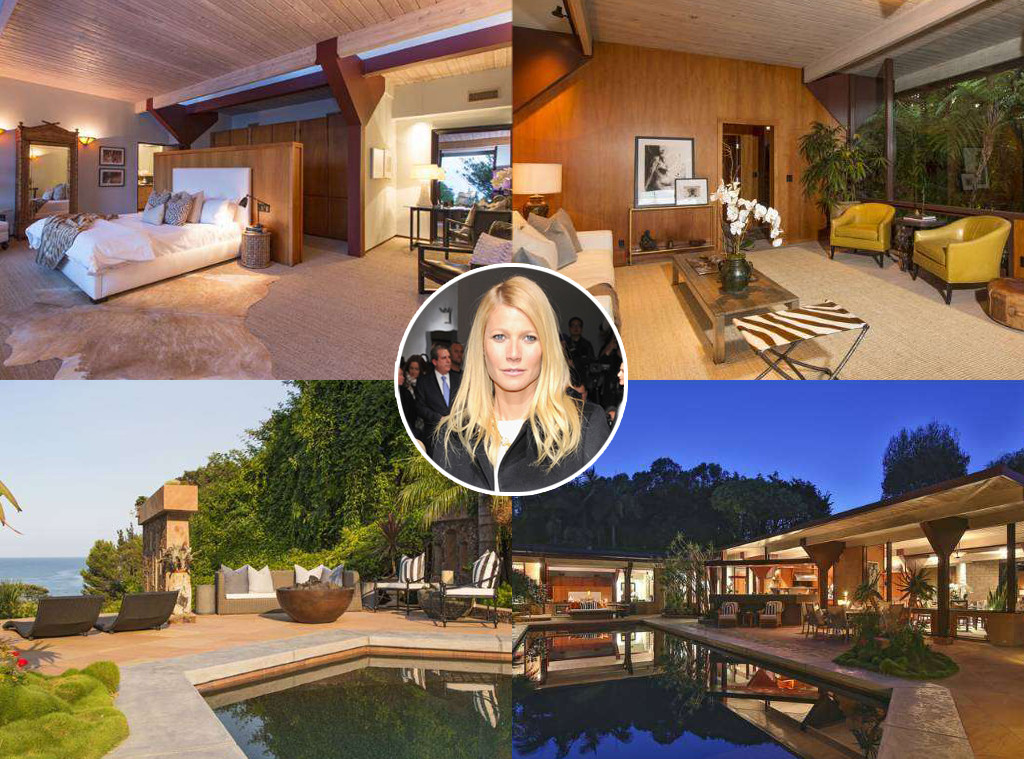 Gwyneth Paltrow, Malibu Home
