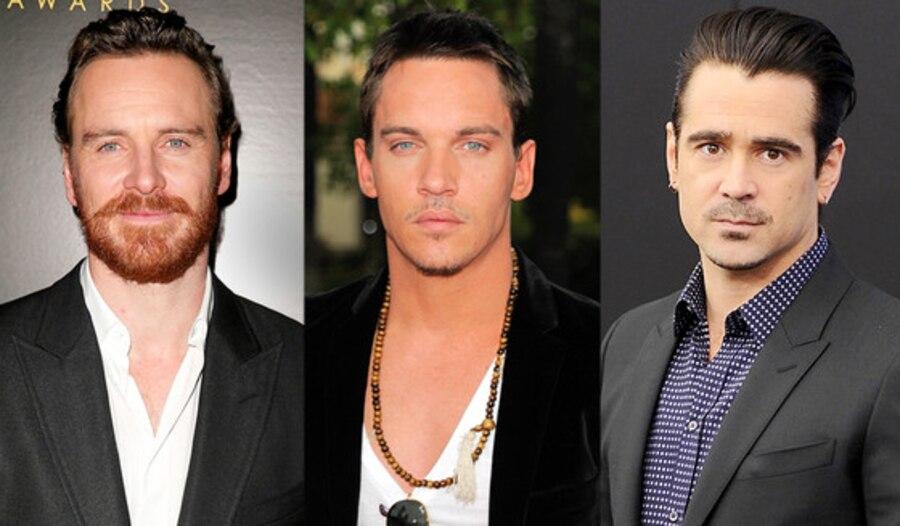 Irish Men, Michael Fassbender, Jonathan Rhys Meyers, Colin Farrell