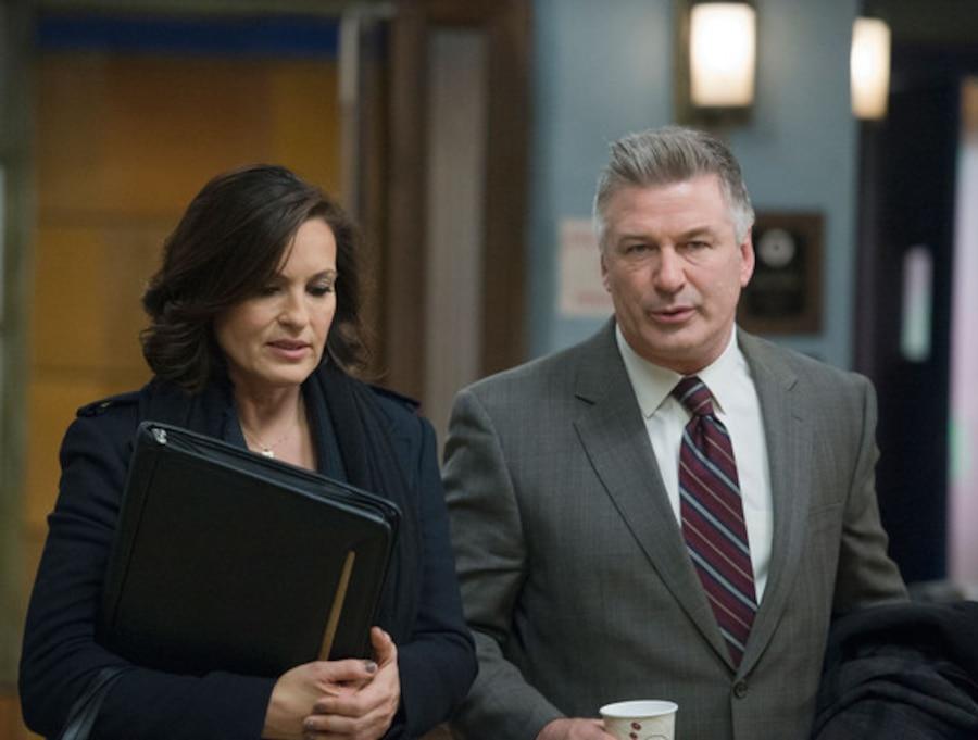 Law & Order: SVU, Mariska Hargitay, Alec Baldwin