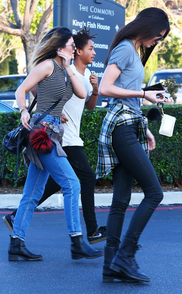 Kendall Jenner, Kylie Jenner, Jaden Smith