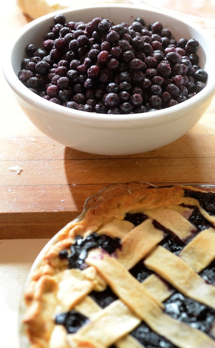 Pizza, Pies, Blueberry Pie