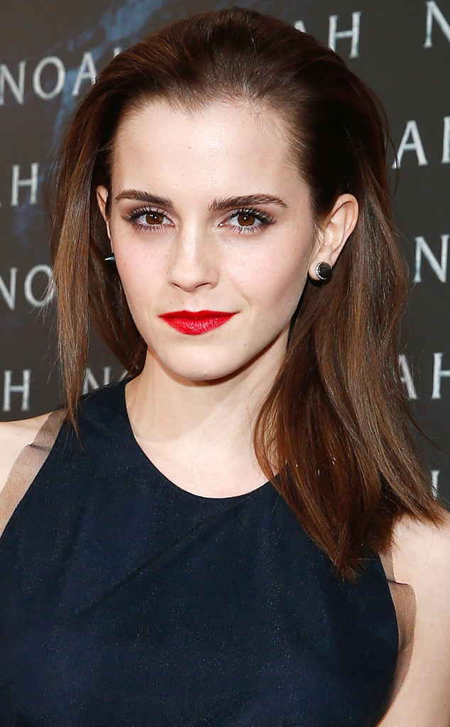 Beauty Police Emma Watson Makes Slicked Back Hair Look