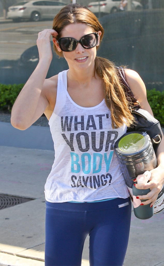 Ashley Greene, Stars Statement T-Shirts