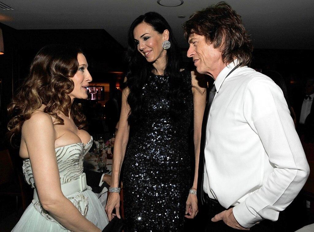 L'Wren Scott, Sarah Jessica Parker, Mick Jagger