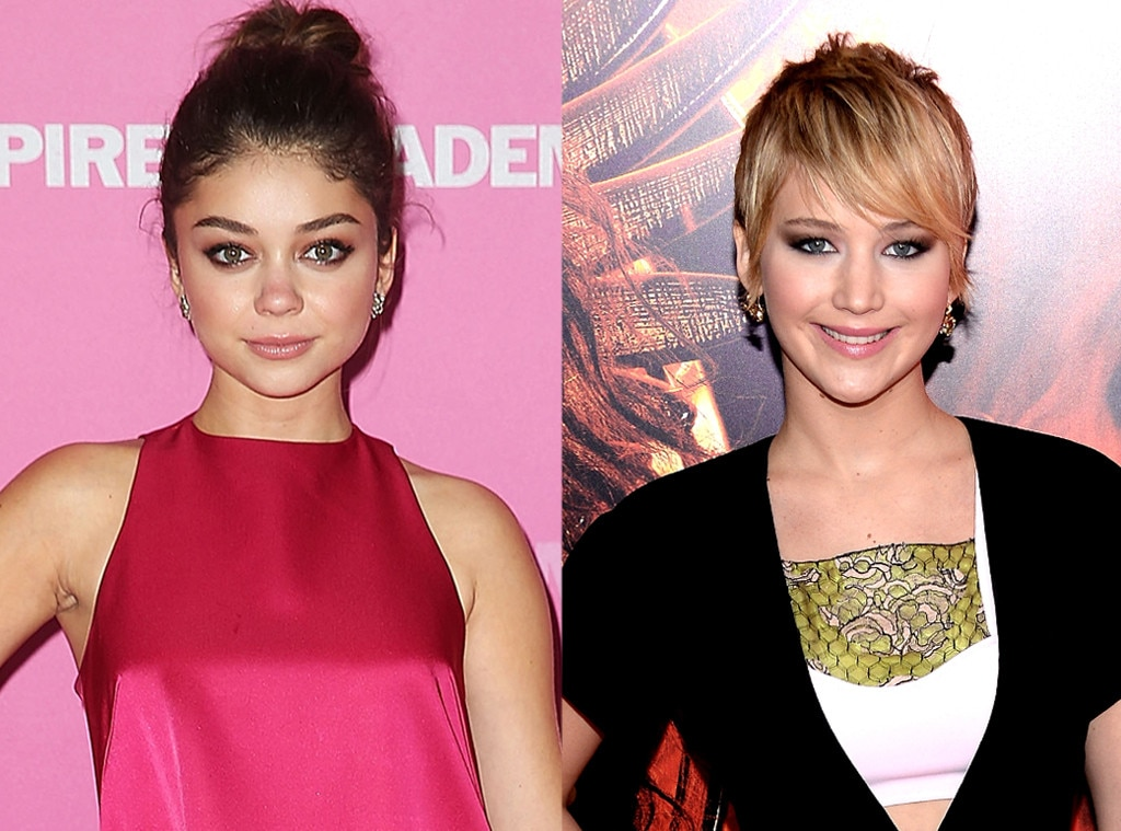 Sarah Hyland, Jennifer Lawrence, Same Age Gallery