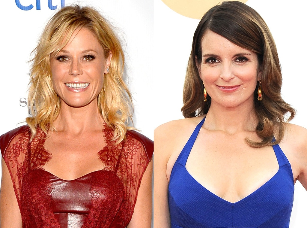Julie Bowen & Tina Fey from These Stars Are the Same Age ...