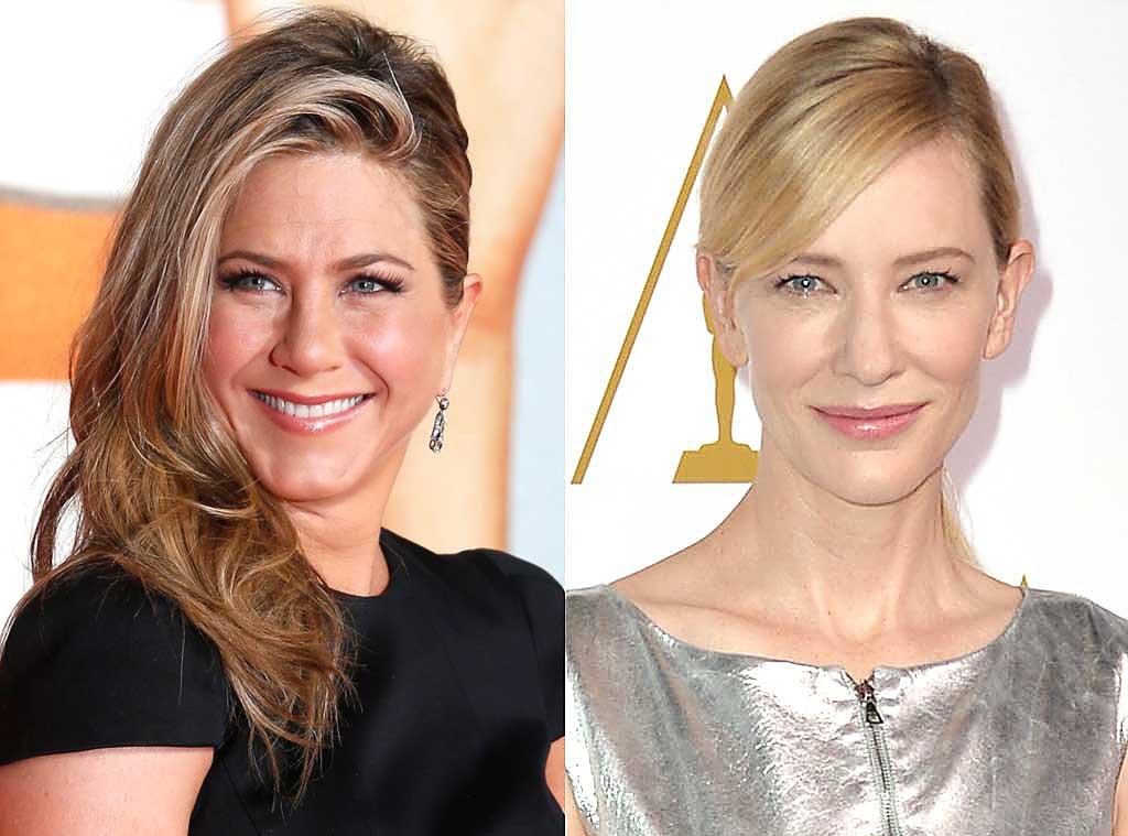 Same Age Gallery, Jennifer Aniston, Cate Blanchett