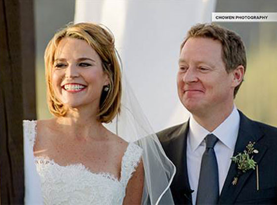 Savannah Guthrie, Wedding