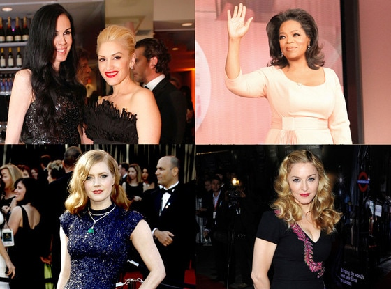 L'Wren Scott, Gwen Stefani, Oprah, Amy Adams, Madonna