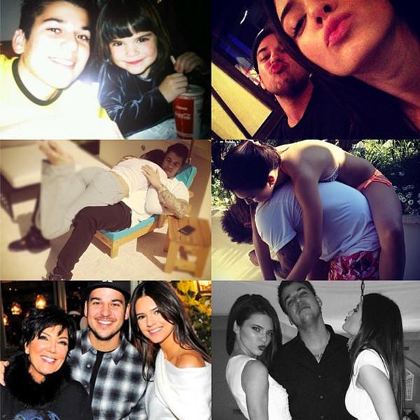 Kendall Jenner, Robert Kardashian, Instagram
