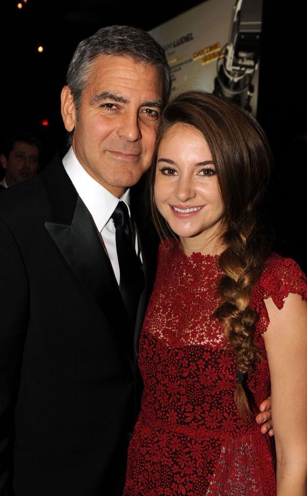 George Clooney, Shailene Woodley
