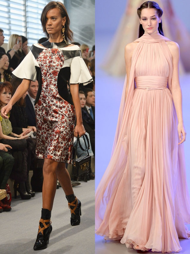Elie Saab, Spring-Summer 2014, Paris Fashion Week, Louis Vuitton
