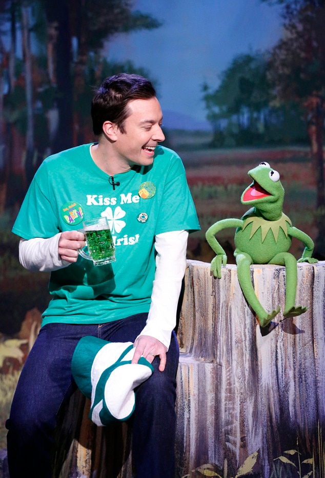 The Tonight Show Starring Jimmy Fallon, Jimmy Fallon, Kermit the Frog
