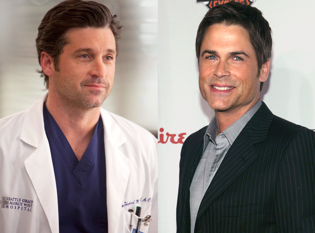 Patrick Dempsey, Grey's Anatomy, Rob Lowe