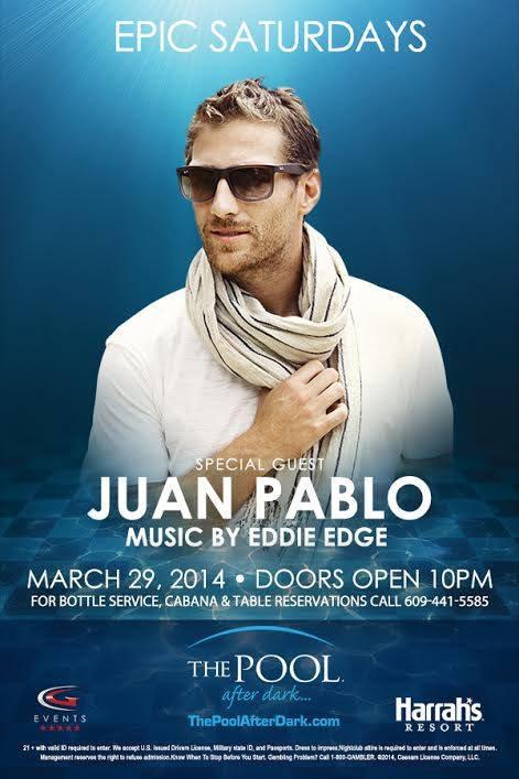 Juan Pablo, Harrah's Casino