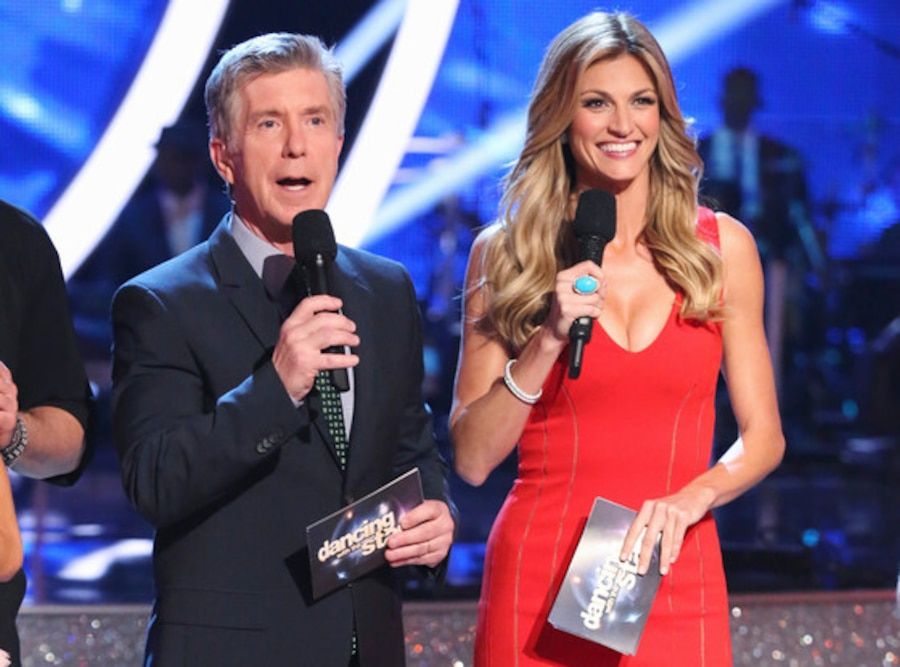 Erin Andrews, Tom Bergeron, Dancing with the Stars
