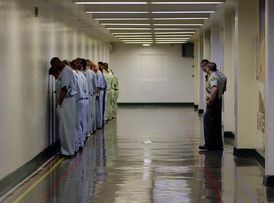 Chris Brown, Men's Central Jail, Los Angeles