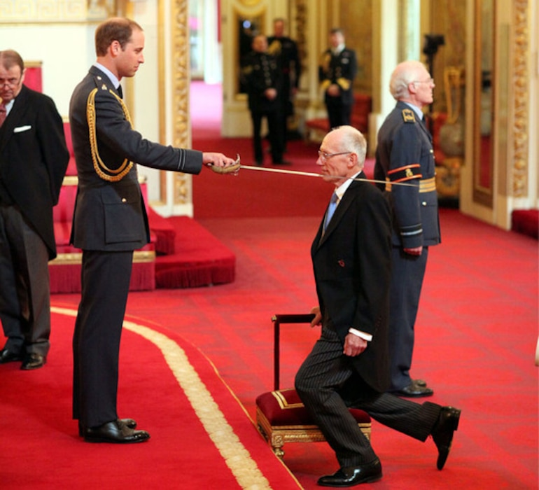 Sir Marcus Setchell, Duke of Cambridge, Prince William