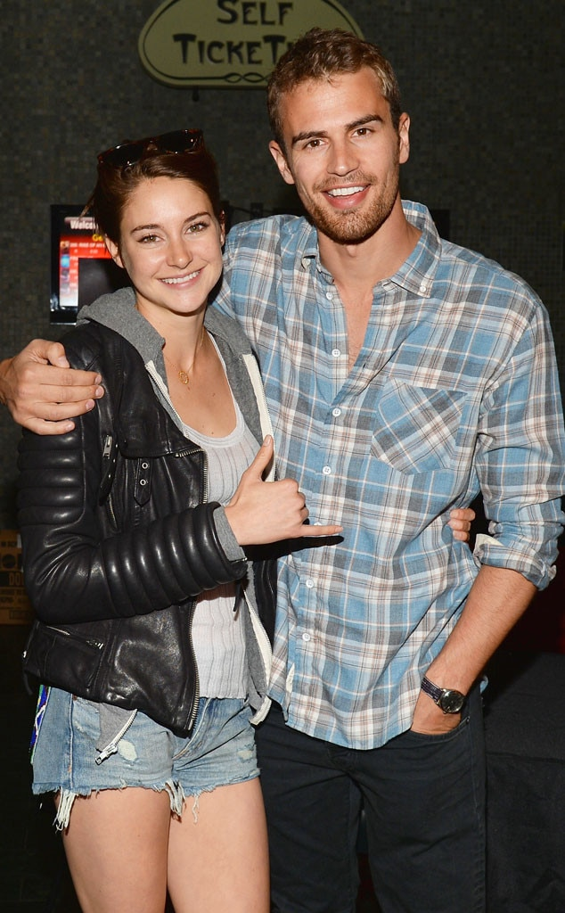 Shailene Woodley, Theo James