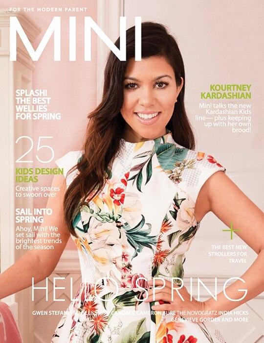 Kourtney Kardashian, Mini Magazine