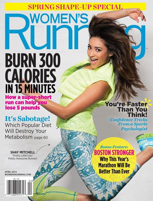 Shay Mitchell, Running Magazine
