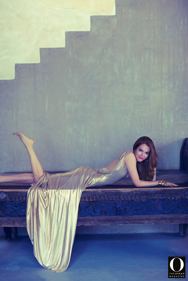 Scandal's Darby Stanchfield Gets Glam in O Magazine—See