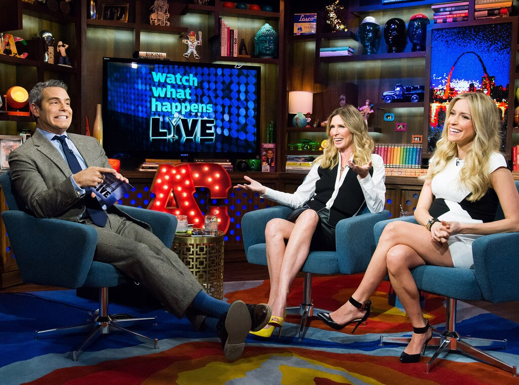 Andy Cohen, Carole Radziwill, Kristin Cavallari, What Watch Happens Live