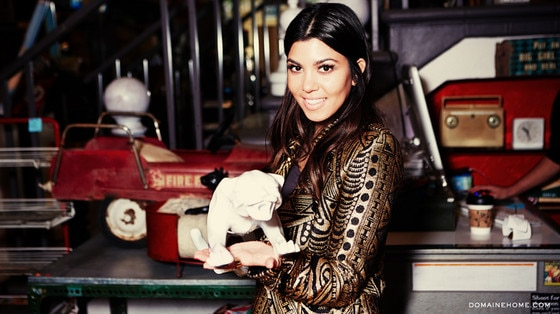 Kourtney Kardashian, Domaine Home