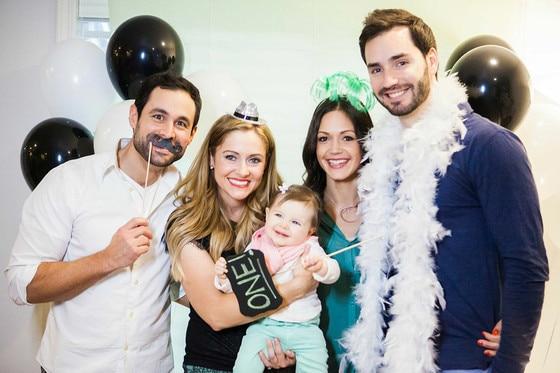 Jason Mesnick, Molly Malaney, Riley Mesnick, Birthday Party
