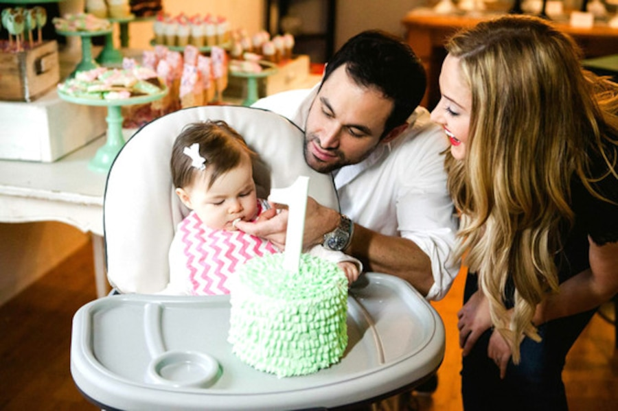 Jason Mesnick, Molly Malaney, Riley Mesnick, Birthday Party