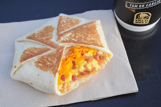Taco Bell, Breakfast
