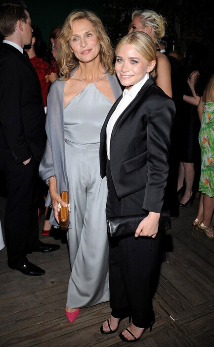 Lauren Hutton, Mary Kate Olsen