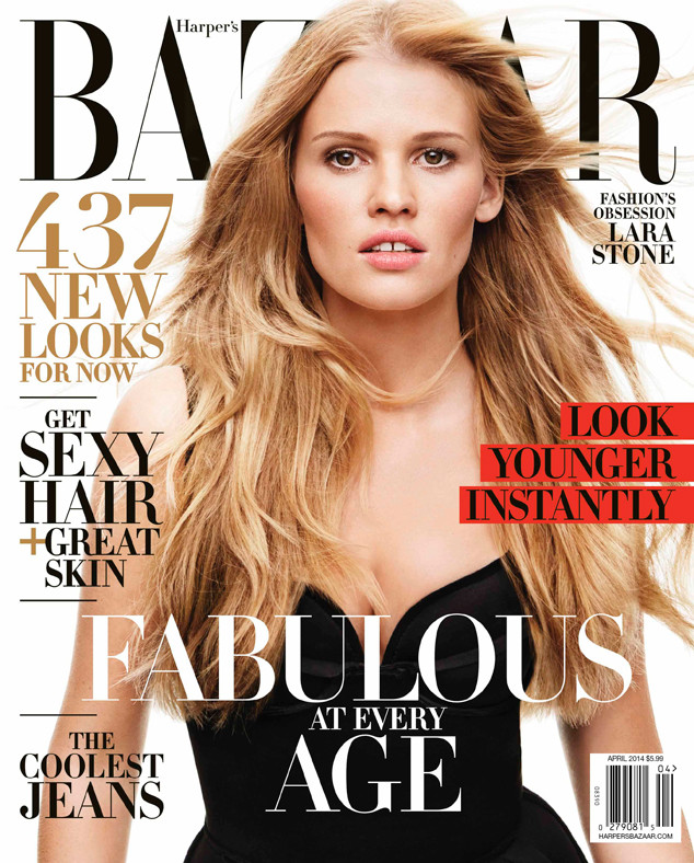 Lara Stone, Solange Knowles, Harper's BAZAAR's