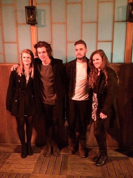 Harry Styles, Fans, Liam Payne