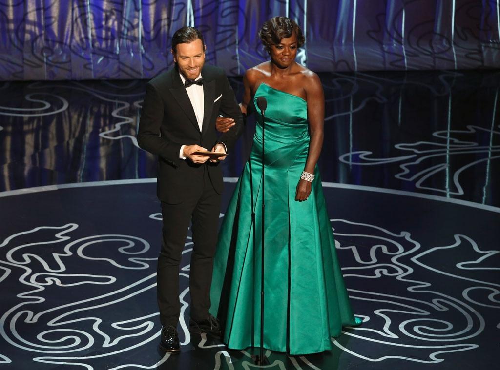 Viola Davis, Ewan McGregor, Oscars Presenters