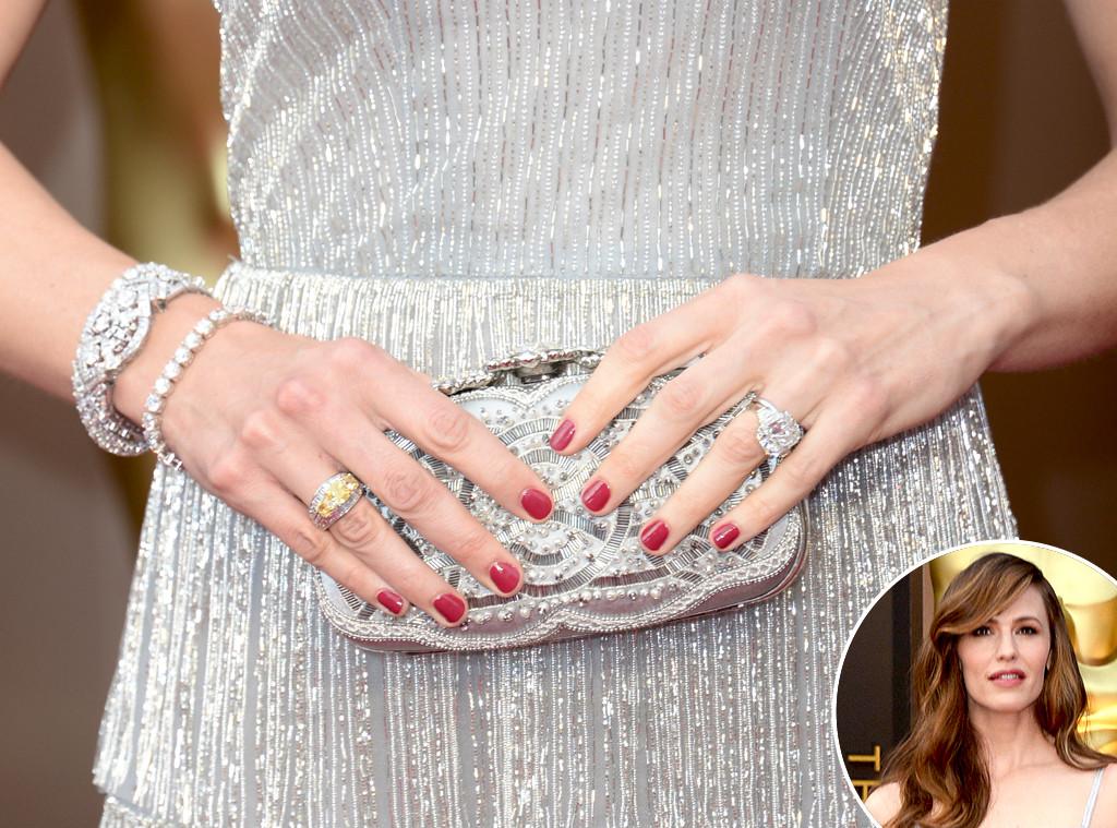 Jennifer Garner, Oscars, Manicure