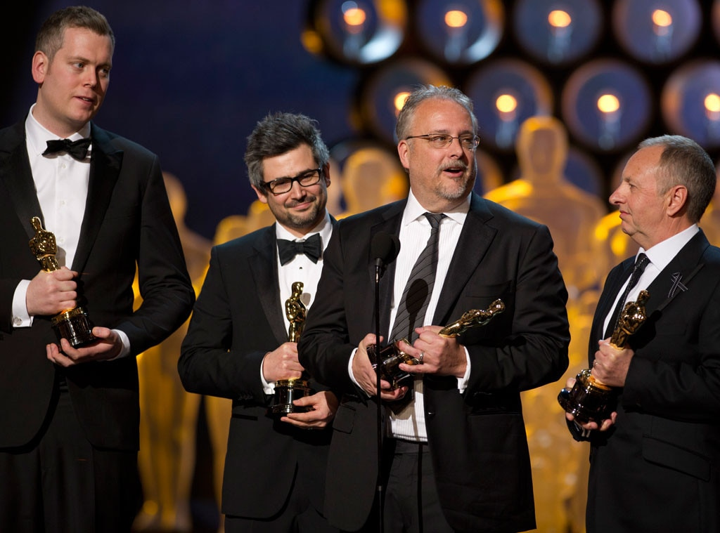 Gravity, Christopher Benstead, Niv Adiri, Skip Lievsay, Chris Munro, Oscars Winners