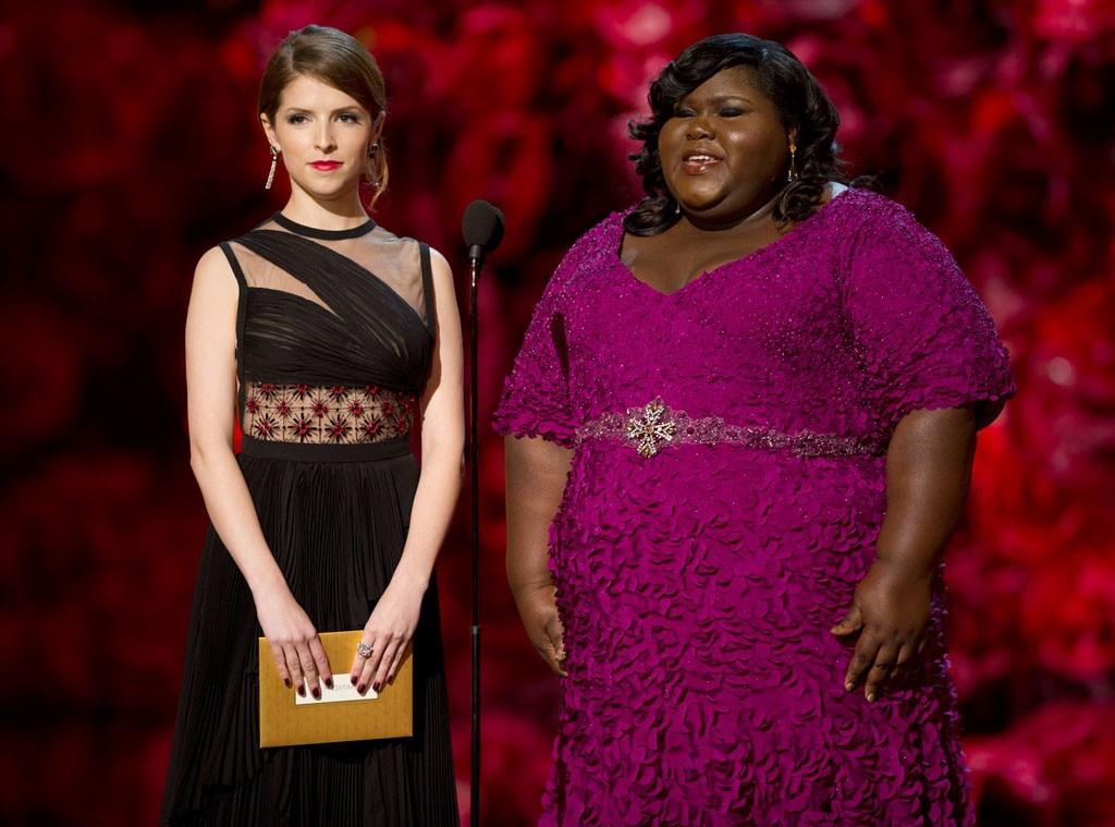 Gabourey Sibide, Anna Kendrick, Oscars Presenters