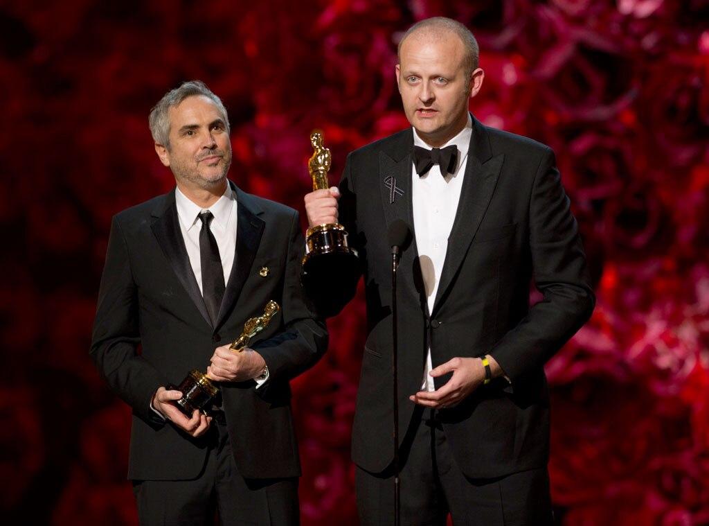 Alfonso Cuaron, Mark Sanger, Oscars Winners