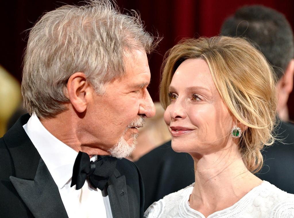 Harrison Ford, Calista Flockhart, Oscars, Candid