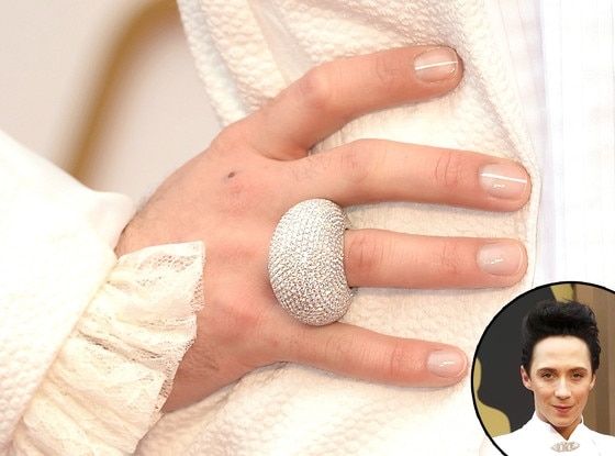 Johnny Weir, Oscars, Manicure
