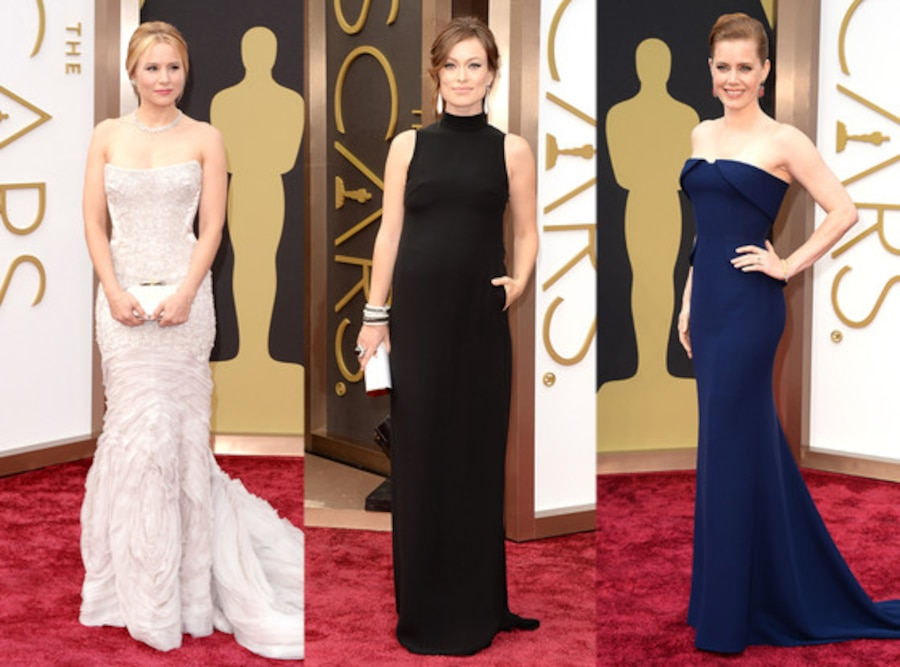 Kristen Bell, Amy Adams, Olivia Wilde, Oscars